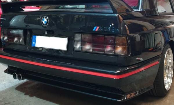 Zierstreifen Set BMW E30 M3 Sport EVO Stoßstange rot